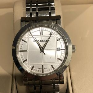 Burberry New Heritage StainlessSteel Men's Bu1350
